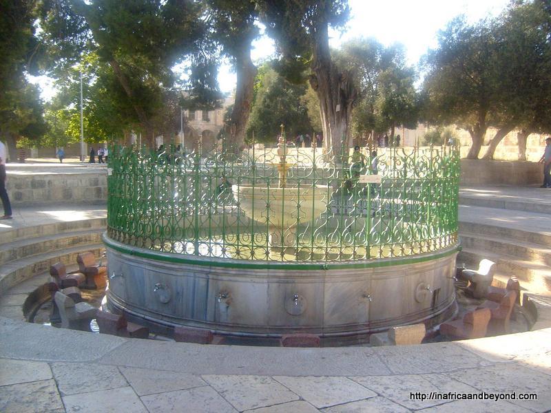 Wudhu Fountain