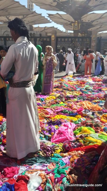 Hawkers in Medinah
