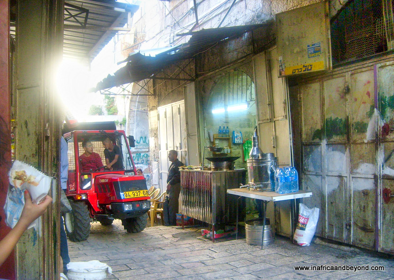 Narrow lanes in the old city